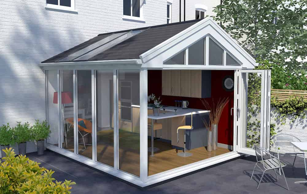 Gable End Conservatory Essex Supply Only Conservatory