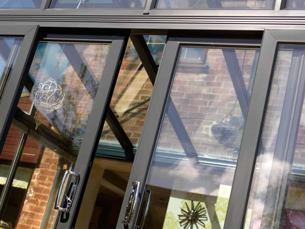 Supply only aluminium doors
